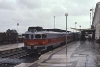 Estación de tren en Mérida
