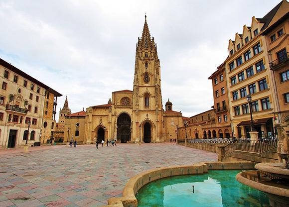 Disfruta de Oviedo haciendo un viaje barato en tren