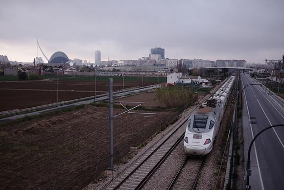Las obras 2018 del tramo Valencia Sagunto ya han terminado