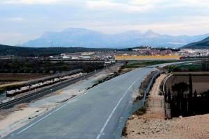 Obras en el Eje Ferroviario Transversal Andaluz