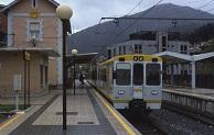Estación de trenes en Balmaseda, Bilbao