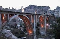 Alcoy, famosa por su numerosos puentes