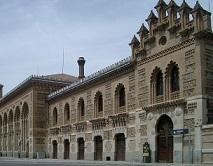 La estación de tren en Toledo es en sí misma una obra de arte