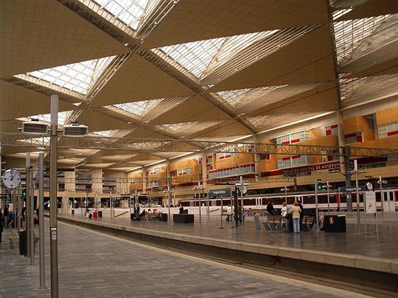 El crecimiento de la estación de tren Zaragoza Delicias hasta 2018