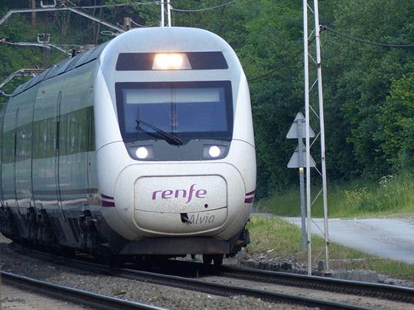 Incremento de usuarios en los trenes de Navarra en 2018