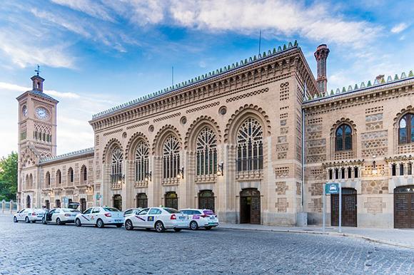 La estación de trenes de Toledo cumplió 100 años en abril 2019