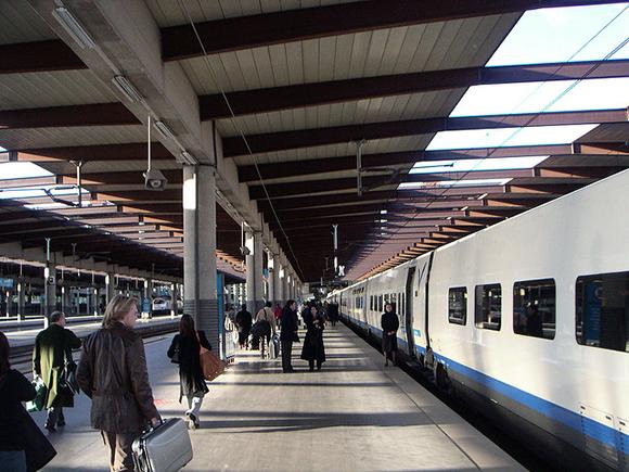 Las obras de la estación de trenes de Plasencia en septiembre 2019