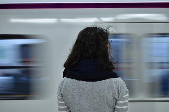 Los usuarios de la estación de trenes de Zamora en 2019