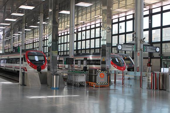 El sistema de seguridad 2020 de los trenes Cádiz Sevilla